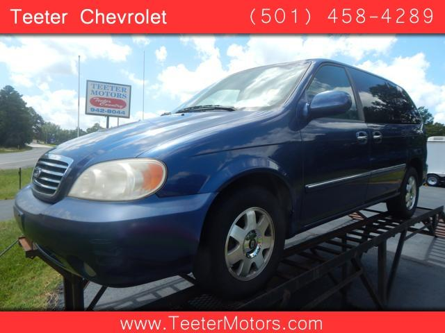 2002 kia sedona in malvern ar teeter motor co