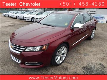 2016 chevrolet impala for sale arkansas for Teeter motor co used car division malvern ar