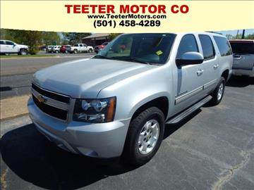Used 2013 chevrolet suburban for sale arkansas for Teeter motor co used car division malvern ar