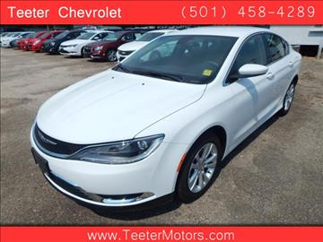 Chrysler 200 for sale arkansas for Teeter motor co used car division malvern ar