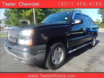 Chevrolet avalanche for sale arkansas for Teeter motor co used car division malvern ar