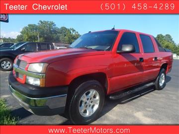 Chevrolet avalanche for sale arkansas for Andy yeager motors in harrison arkansas