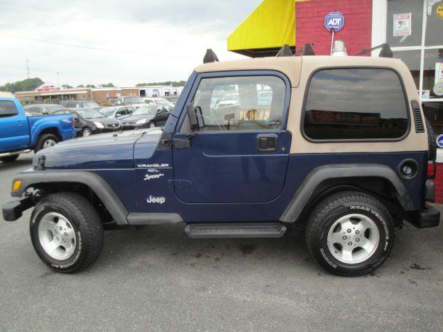 2001 Jeep Wrangler for sale in Fredericksburg VA