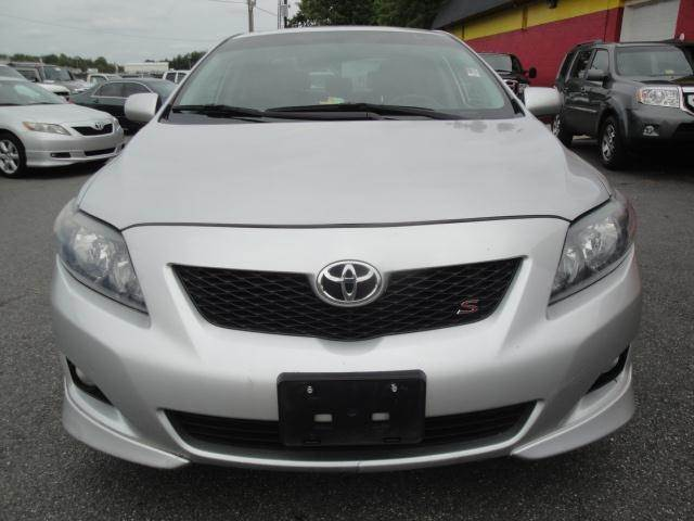 2009 toyota corolla s 4cyl sunroof in fredericksburg va l s auto brokers. Black Bedroom Furniture Sets. Home Design Ideas