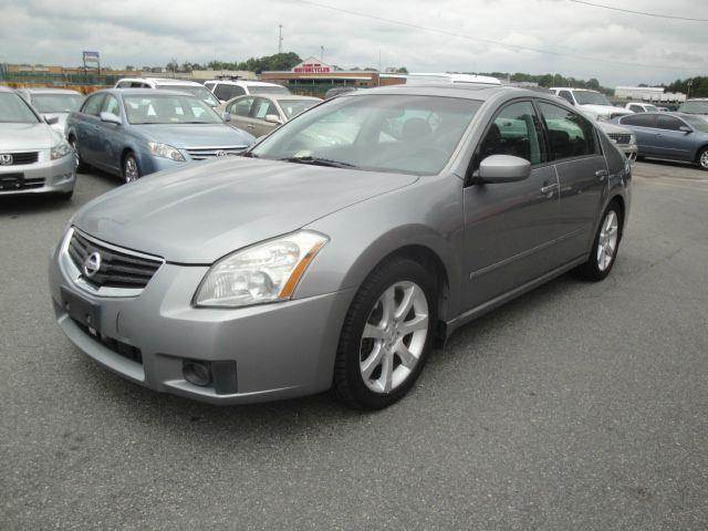2007 nissan maxima 3 5 se 4dr sedan in fredericksburg va l s auto brokers. Black Bedroom Furniture Sets. Home Design Ideas