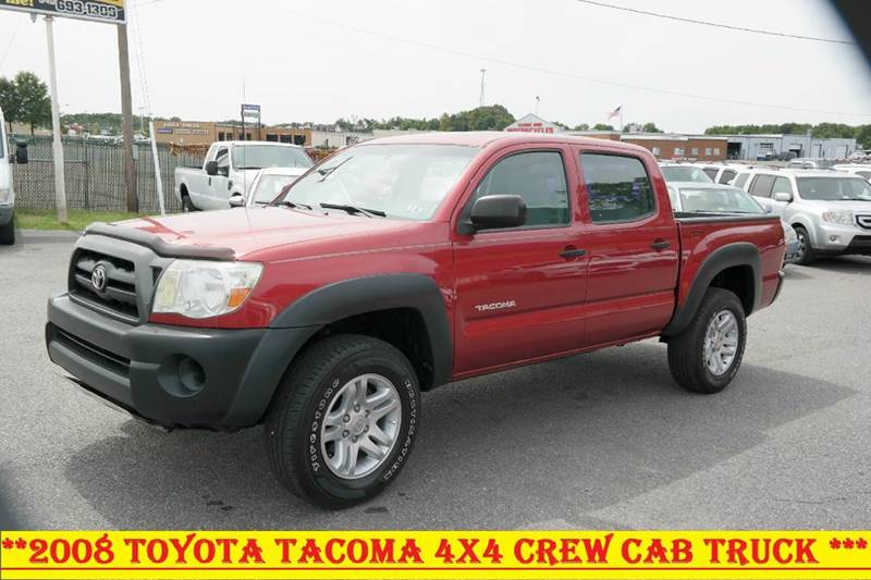 2008 toyota tacoma 4x4 4dr double cab in fredericksburg va. Black Bedroom Furniture Sets. Home Design Ideas