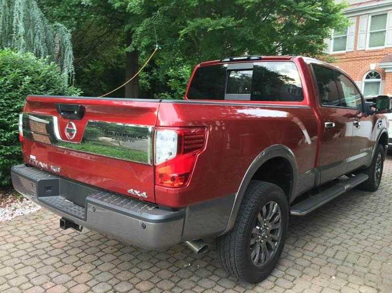 2016 nissan titan xd platinum reserve 4x4 4dr crew cab pickup diesel in fredericksburg va l. Black Bedroom Furniture Sets. Home Design Ideas