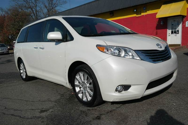 2011 toyota sienna limited awd nav dvd 2sunroof in fredericksburg va l s auto brokers. Black Bedroom Furniture Sets. Home Design Ideas