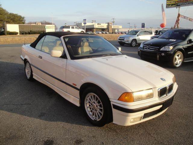 BMW 318i Convertible 1997 E36 in black DUDLEY