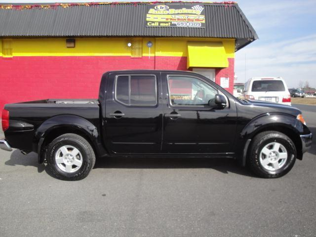 2005 nissan frontier 4x4 crew cab sunroof 6 speed in. Black Bedroom Furniture Sets. Home Design Ideas