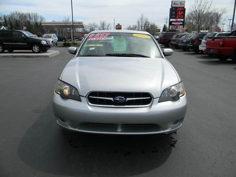 2005 subaru legacy awd 4dr sedan in appleton wi ultimate rides inc. Black Bedroom Furniture Sets. Home Design Ideas