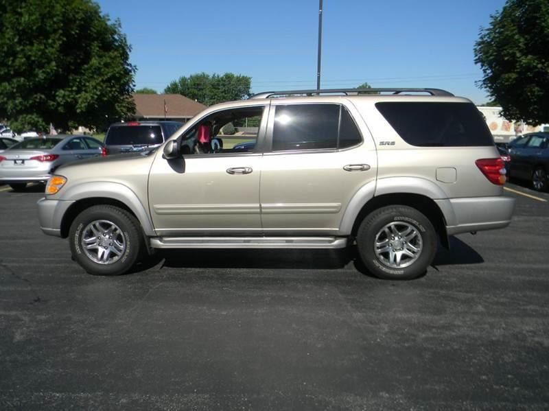 2003 toyota sequoia sr5 4dr suv in appleton wi ultimate. Black Bedroom Furniture Sets. Home Design Ideas