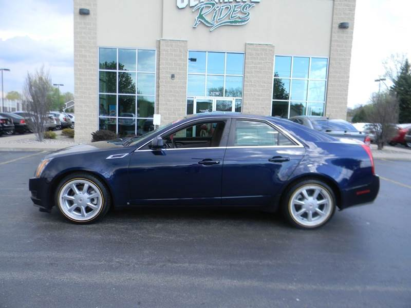 2008 cadillac cts 3 6l v6 4dr sedan in appleton wi. Black Bedroom Furniture Sets. Home Design Ideas