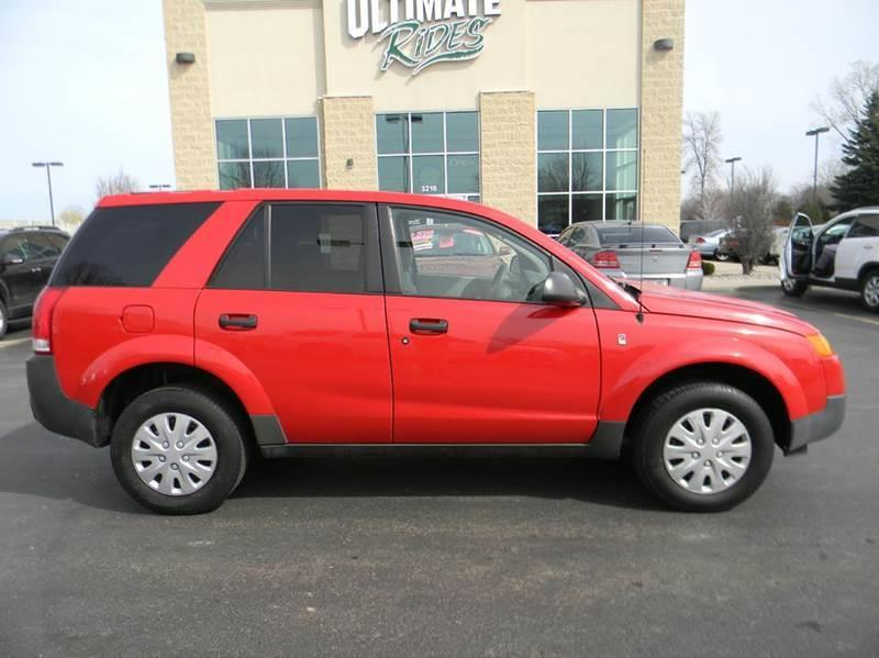 2004 saturn vue fwd 4dr suv in appleton wi ultimate rides inc. Black Bedroom Furniture Sets. Home Design Ideas