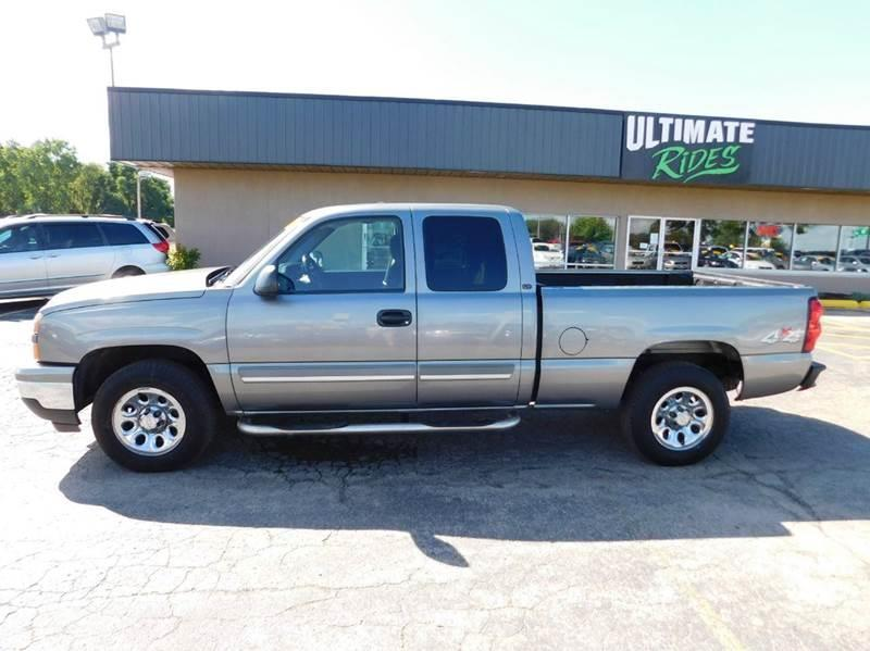 2006 chevrolet silverado 1500 lt1 4dr extended cab 4wd 6 5 ft sb in appleton wi ultimate. Black Bedroom Furniture Sets. Home Design Ideas