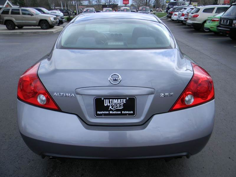 2008 Nissan Altima 25 S 2dr Coupe Cvt In Appleton Wi Ultimate