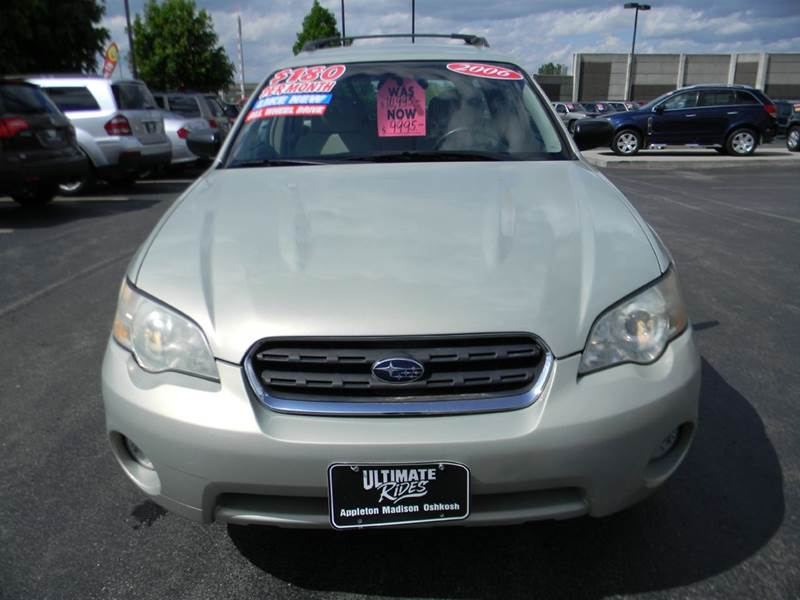2006 subaru outback awd 4dr wagon w automatic in appleton wi ultimate rides inc. Black Bedroom Furniture Sets. Home Design Ideas