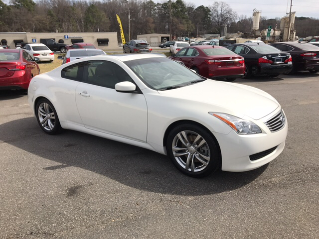 2009 infiniti g37 coupe journey 2dr coupe in concord nc. Black Bedroom Furniture Sets. Home Design Ideas