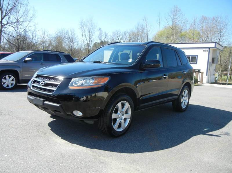 2009 hyundai santa fe limited 4dr suv in concord nc. Black Bedroom Furniture Sets. Home Design Ideas