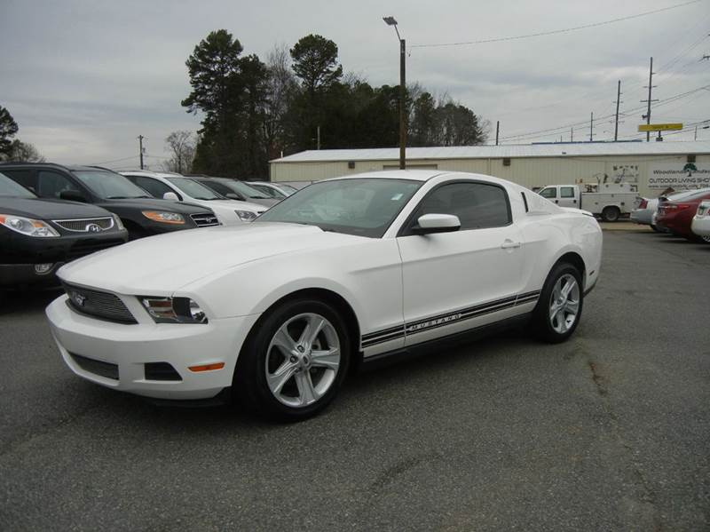 2010 ford mustang v6 premium 2dr coupe in concord nc. Black Bedroom Furniture Sets. Home Design Ideas