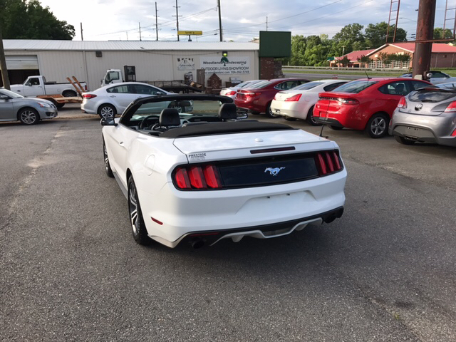 2016 Ford Mustang EcoBoost Premium 2dr Convertible - Concord NC