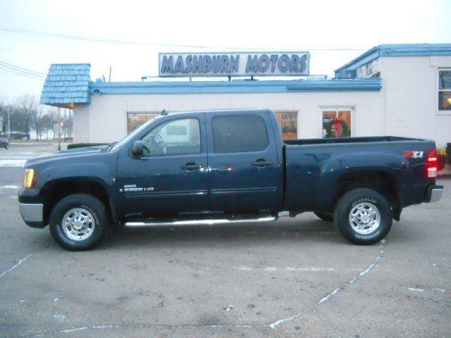 2008 gmc sierra 2500 sle2 crew cab std box 4wd in mount. Black Bedroom Furniture Sets. Home Design Ideas