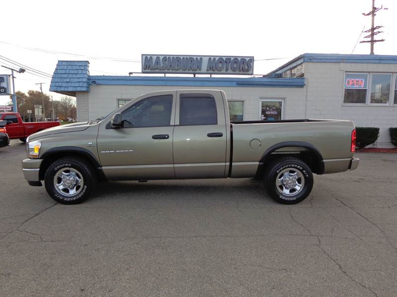 2006 dodge ram pickup 2500 slt 4dr quad cab sb in mount clemens mi mashburn motors. Black Bedroom Furniture Sets. Home Design Ideas