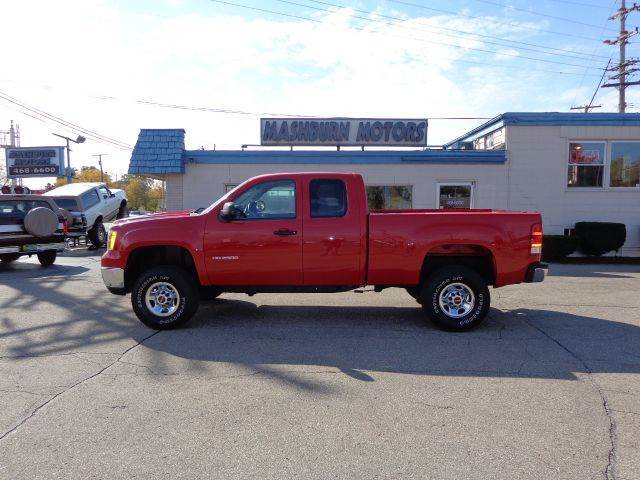2010 gmc sierra 2500hd work truck 4x4 4dr extended cab sb. Black Bedroom Furniture Sets. Home Design Ideas