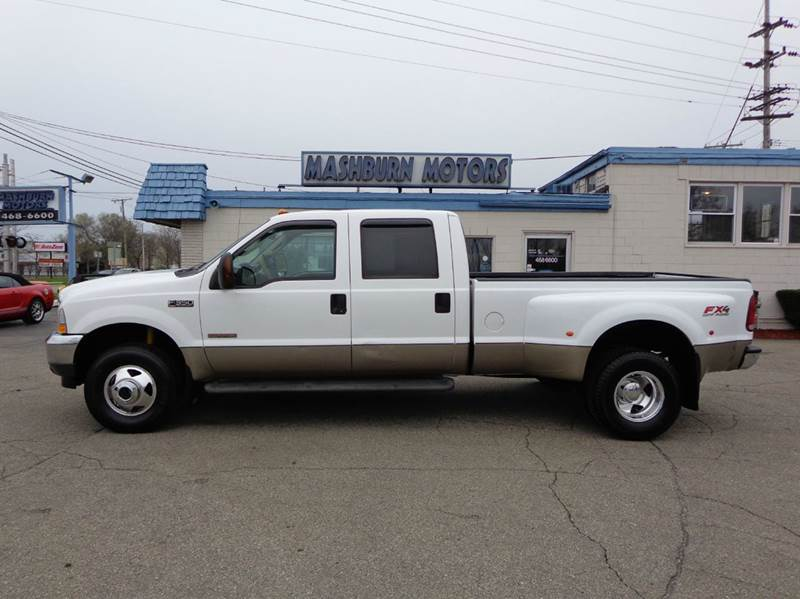 2003 ford f 350 super duty 4dr crew cab lariat 4wd lb drw in mount clemens mi mashburn motors. Black Bedroom Furniture Sets. Home Design Ideas