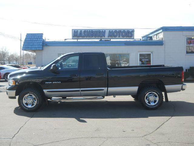 2004 dodge ram pickup 2500 slt quad cab long bed 4wd in. Black Bedroom Furniture Sets. Home Design Ideas