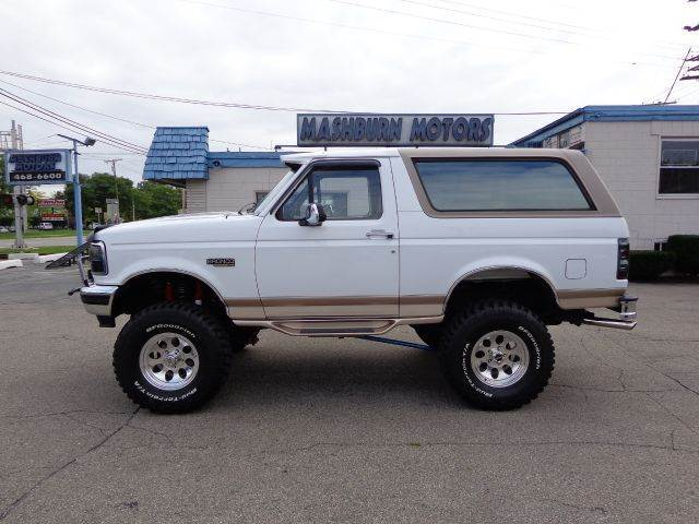 1996 ford bronco for sale in mount clemens mi. Black Bedroom Furniture Sets. Home Design Ideas