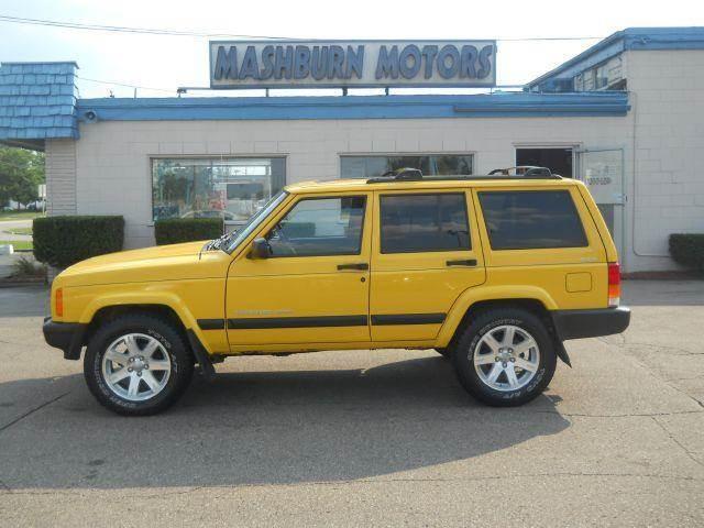 2001 jeep cherokee sport 4 door 4wd in mount clemens mi mashburn motors. Black Bedroom Furniture Sets. Home Design Ideas