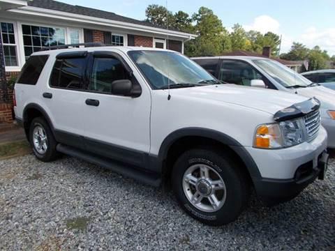2003 Ford Explorer for sale in Spartanburg, SC