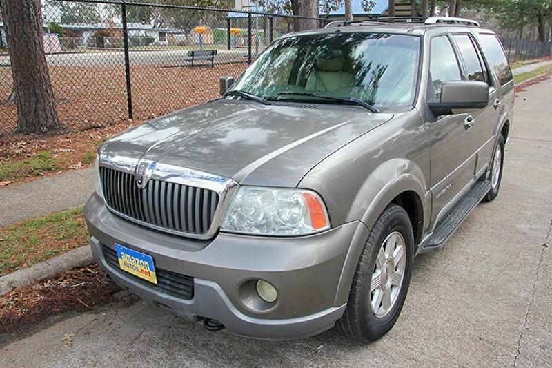 Suv Auto Sales Houston Tx: 2004 Lincoln Navigator Luxury 4WD 4dr SUV In Houston TX