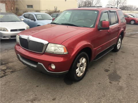 Quality Auto Sales Hamilton Oh >> 2003 Lincoln Aviator For Sale in Gray Court, SC ...
