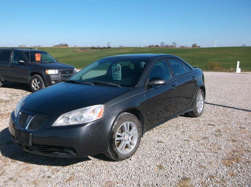 2006 Pontiac G6 4dr Sedan W V6 In Lockridge Ia Preferred