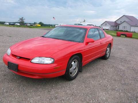1998 chevrolet monte carlo for sale. Black Bedroom Furniture Sets. Home Design Ideas