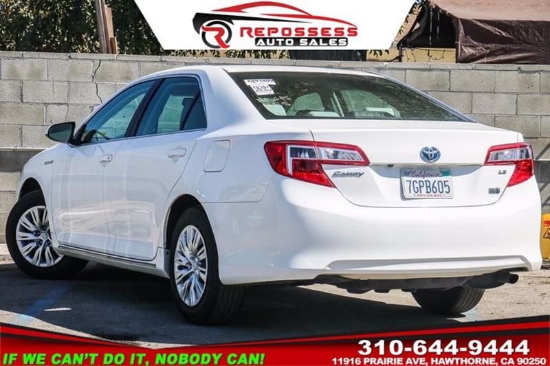 2014 Toyota Camry Hybrid LE 4dr Sedan In Hawthorne CA ...