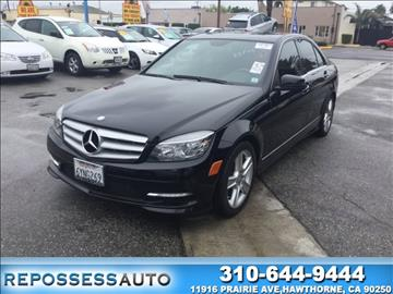 2011 Mercedes-Benz C-Class for sale in Hawthorne, CA