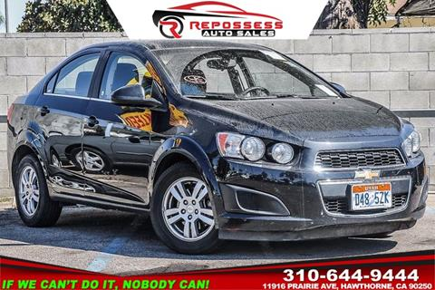 2015 Chevrolet Sonic for sale in Hawthorne, CA
