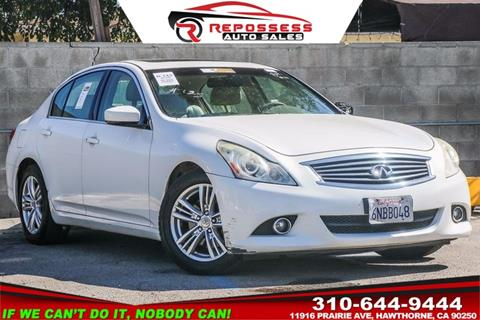 2010 Infiniti G37 Sedan for sale in Hawthorne, CA