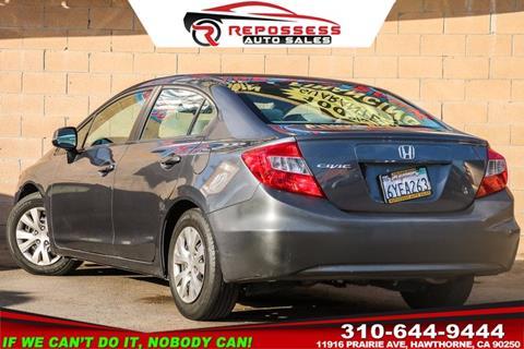 Repossess Auto Sales >> Honda Civic For Sale in Hawthorne, CA - Carsforsale.com