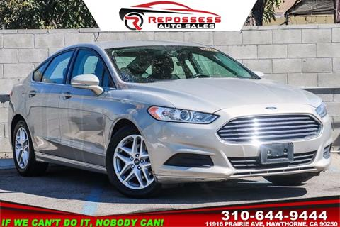 2016 Ford Fusion for sale in Hawthorne, CA