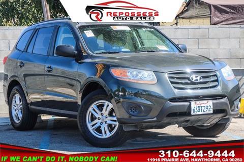 2011 Hyundai Santa Fe for sale in Hawthorne, CA