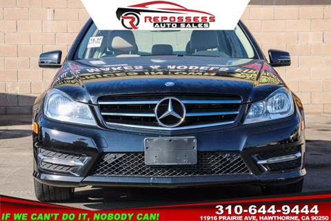 2014 Mercedes-Benz C-Class for sale in Hawthorne, CA