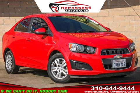 2013 Chevrolet Sonic for sale in Hawthorne, CA
