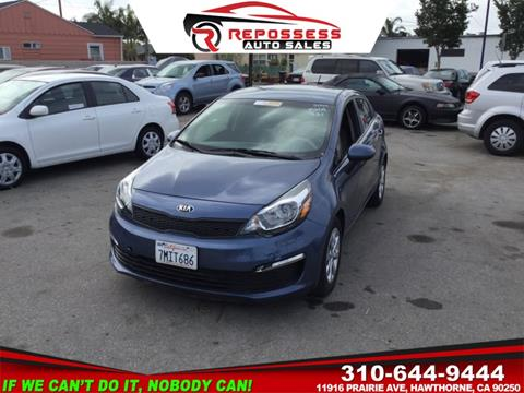 2016 Kia Rio for sale in Hawthorne, CA