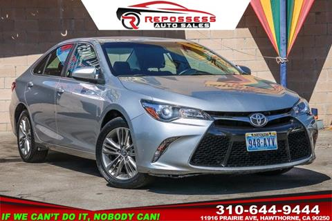 2015 Toyota Camry for sale in Hawthorne, CA