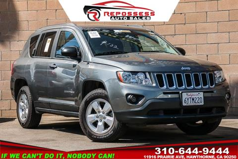 2013 Jeep Compass for sale in Hawthorne, CA