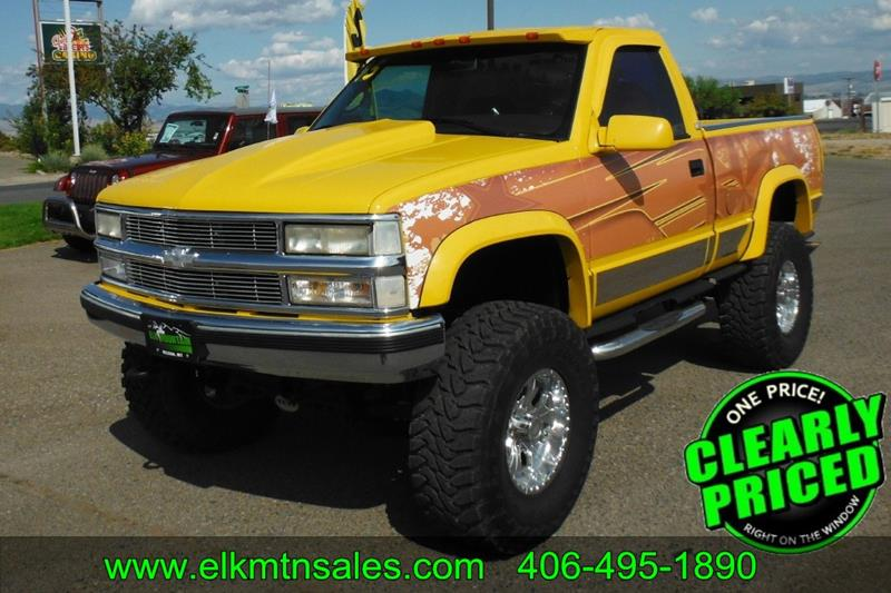Chevrolet C K 1500 Series For Sale In Montana